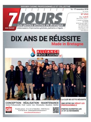 Couverture du journal du 17/11/2018