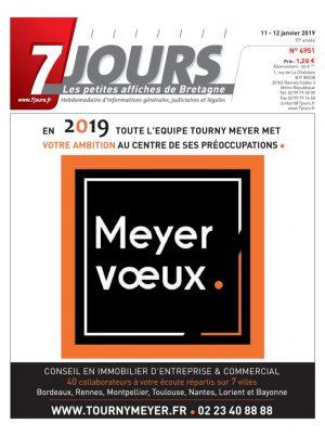Couverture du journal du 12/01/2019
