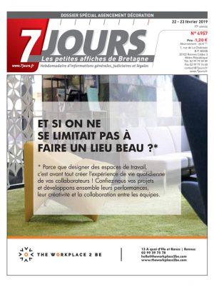 Couverture du journal du 23/02/2019