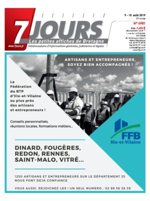 Couverture du journal du 10/08/2019