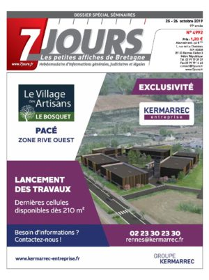 Couverture du journal du 26/10/2019