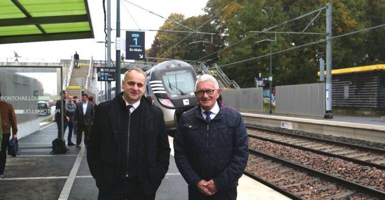 Illustration de l'article Gare TER Pontchaillou