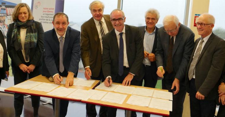 Illustration de l'article 7 projets immobiliers «Action Coeur de Ville» à Vitré  : 7 millions d'euros d'apport d'« Action Logement »