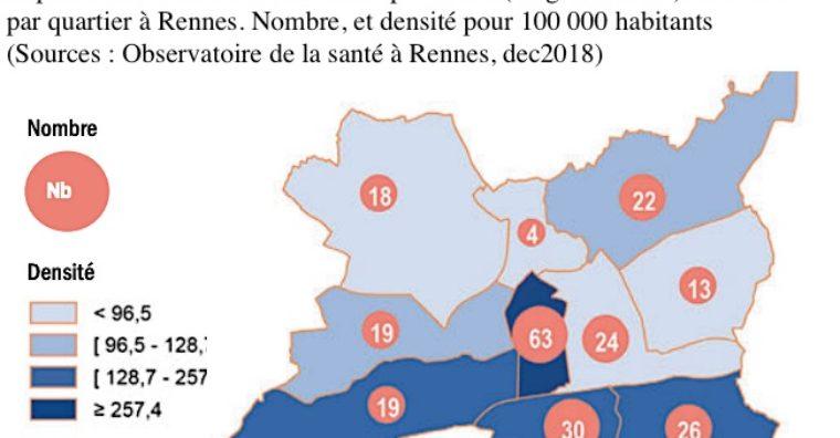 Illustration de l'article L'influence des prix de l'immobilier rennais, sur les installations de médecins généralistes