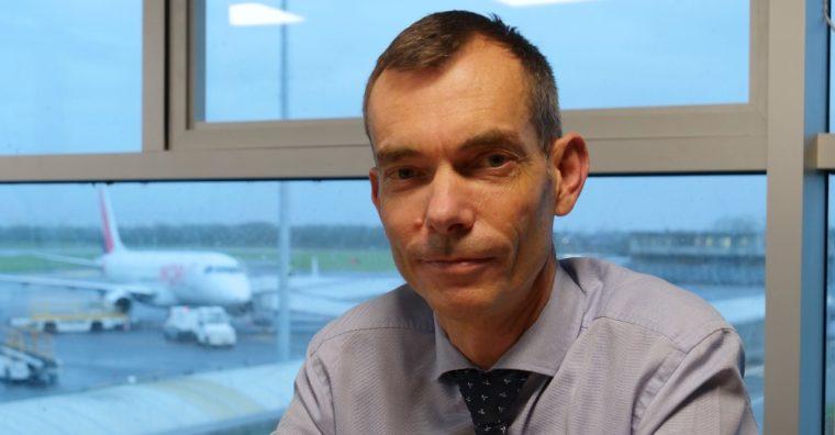 Illustration de l'article Gilles TELLIER, directeur des aéroports de Rennes et Dinard