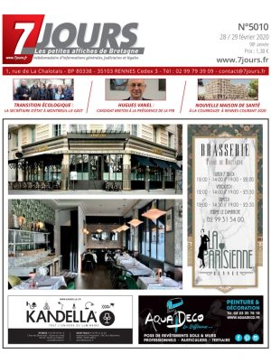 Couverture du journal du 02/03/2020