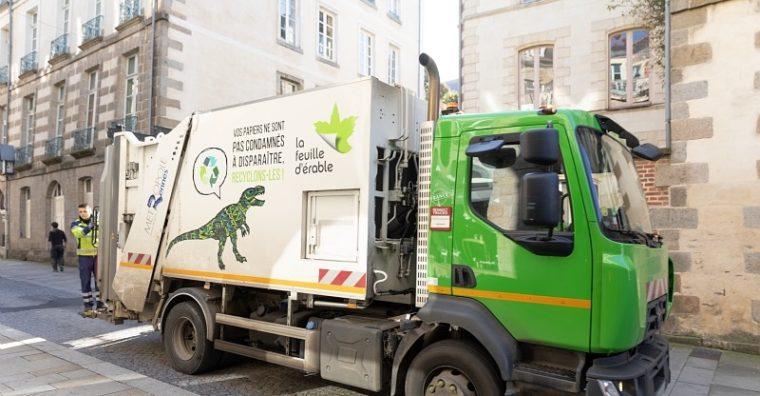 Illustration de l'article La Feuille d'Érable apporte son soutien à Rennes dans la collecte des déchets ménagers