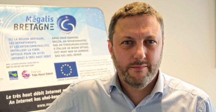 Illustration de l'article Patrick Malfait, Directeur général de Mégalis Bretagne