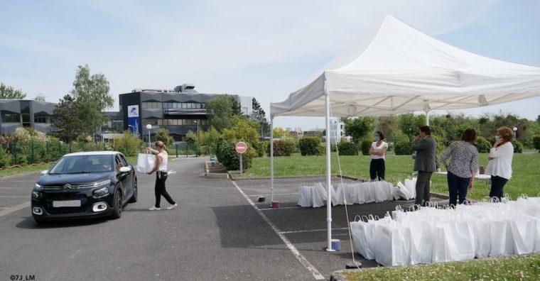 Illustration de l'article La CCI35 distribue 3 000 kits aux commerçants, pour permettre la reprise d'activité