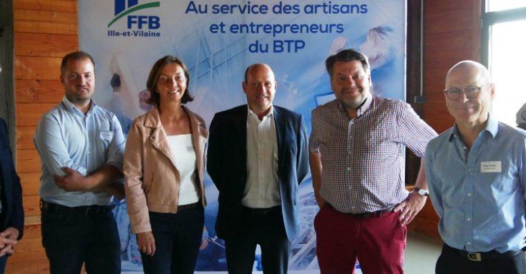Illustration de l'article Alexandre Moison, nouveau président de la FFB du pays de Redon