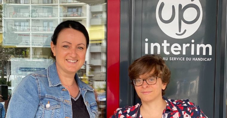 Illustration de l'article Up' Interim, une agence dédiée aux travailleurs en situation de handicap.