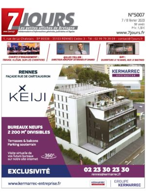 Couverture du journal du 10/02/2020