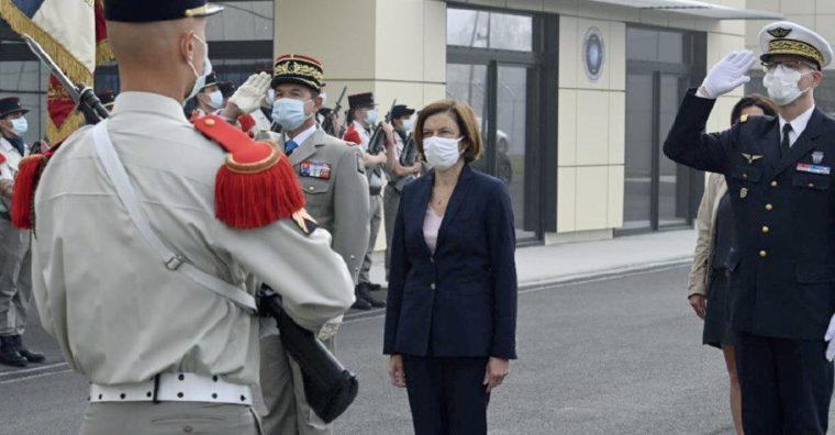 Illustration de l'article Florence Parly, Ministre des armées, en Bretagne