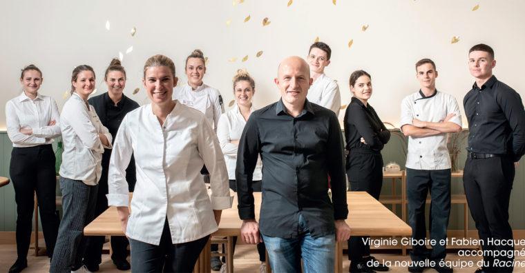 Illustration de l'article Un nouvel écrin, plus spacieux et plus prestigieux, pour le restaurant étoilé rennais Racines