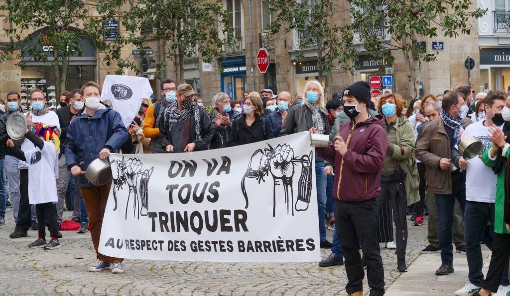 colère bar Rennes