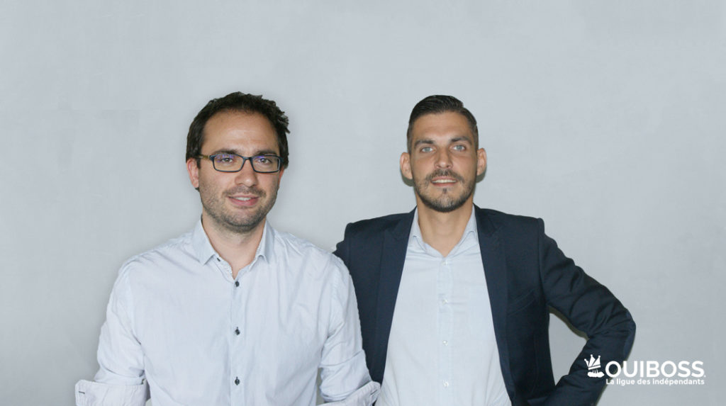 Yoann Coulvier & Adrien Ogor, co-fondateurs de OuiBoss
