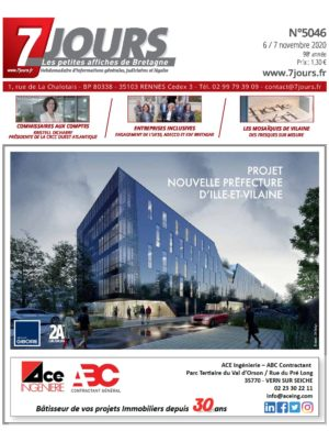 Couverture du journal du 06/11/2020