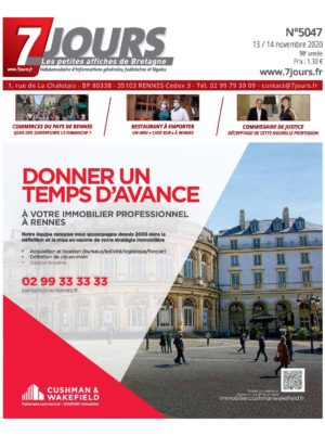 Couverture du journal du 13/11/2020