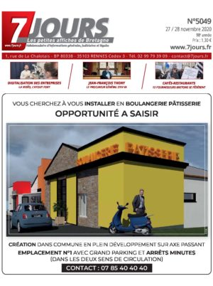 Couverture du journal du 27/11/2020