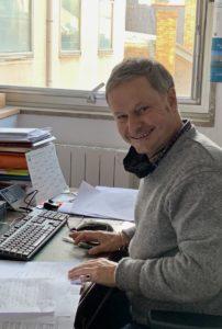 Richard Guillon président de la chambre des huissiers d'Ille-et-Vilaine © D.R.