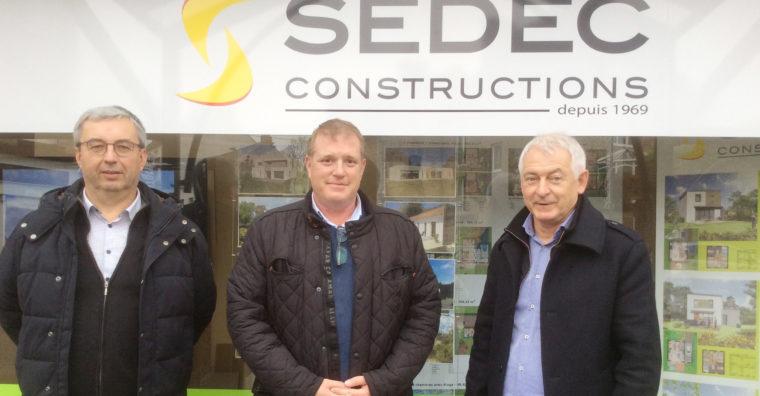 Illustration de l'article SeDec constructeur de maisons individuelles ouvre une agence à Fougères