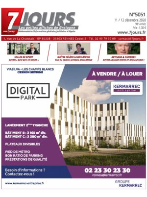 Couverture du journal du 11/12/2020