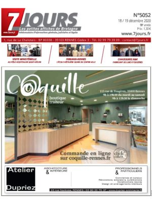 Couverture du journal du 18/12/2020