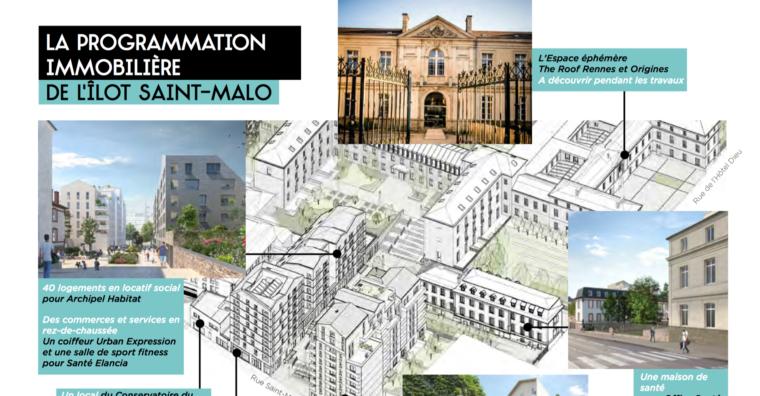 Illustration de l'article Hôtel-Dieu Rennes : lancement des travaux en janvier 2021
