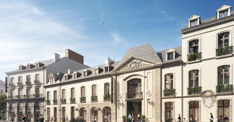 Hôtel 4* Rennes - Les travaux ont débuté fin 2018 pour une ouverture prévue début 2023