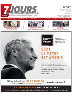 Couverture du journal du 08/01/2021