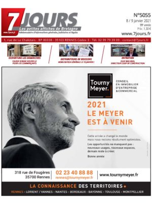 Couverture du journal du 08/01/2021