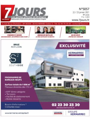 Couverture du journal du 22/01/2021