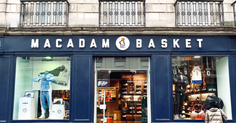 Illustration de l'article Macadam Basket, « 2020, le digital nous a beaucoup aidés »