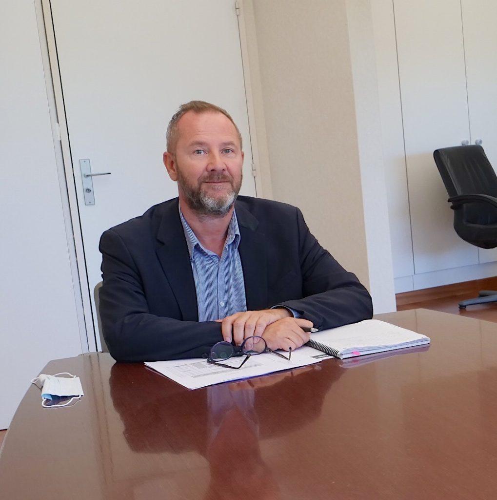 Philippe Lelièvre, secrétaire général de la FBTP35