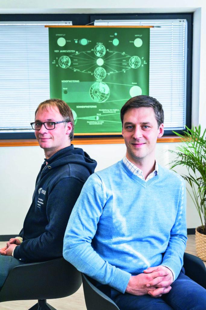 Jonathan & Clément Galic, cofondateurs d'Unseenlabs