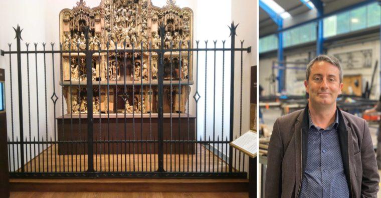 Illustration de l'article [ Restauration du Patrimoine & Art ] La métallerie ferronnerie Crézé se développe