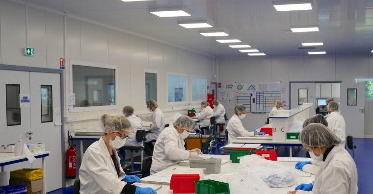 Illustration de l'article [ Covid – Test ] L'entreprise NG Biotech investit 1,4 million d'euros