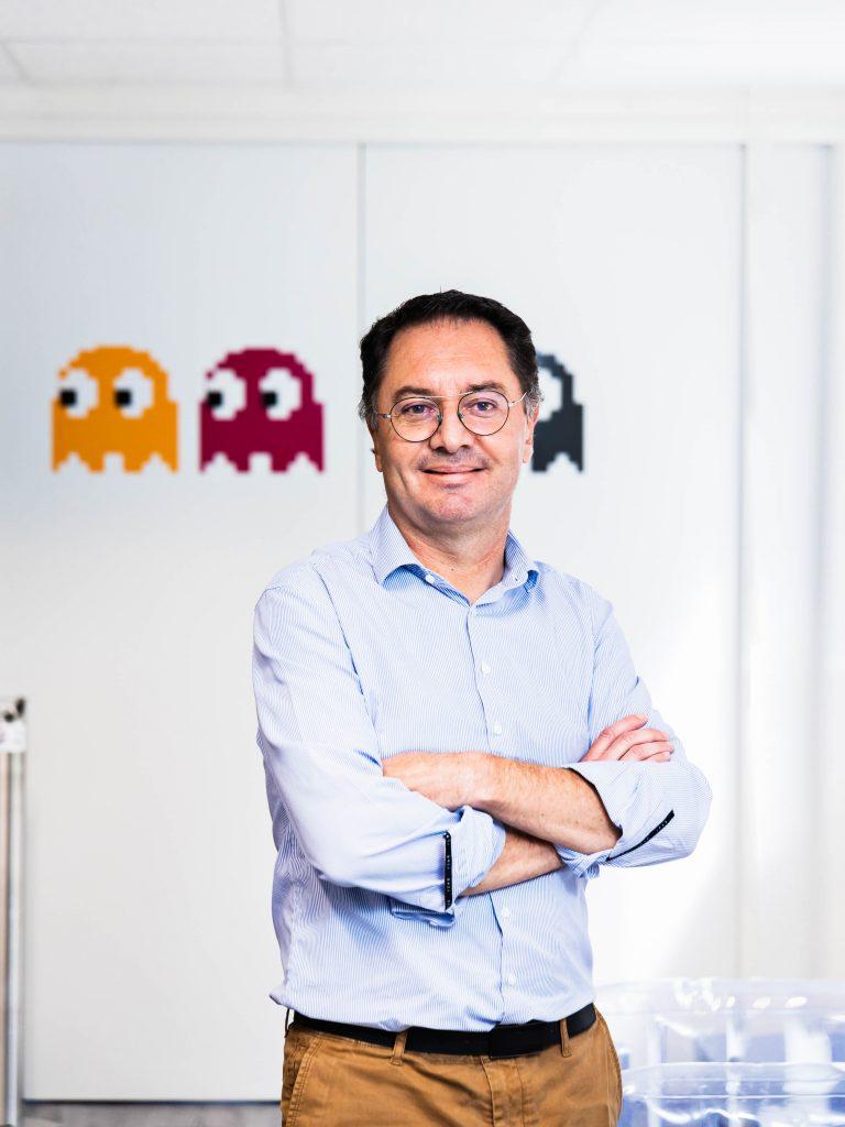Olivier Méril, dirigeant MV Group