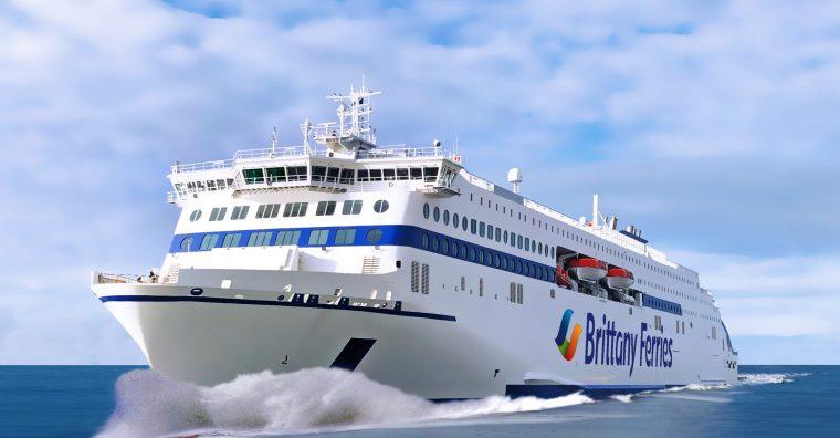 Illustration de l'article Brexit : Malgré le gros temps, Brittany Ferries commande deux nouveaux navires