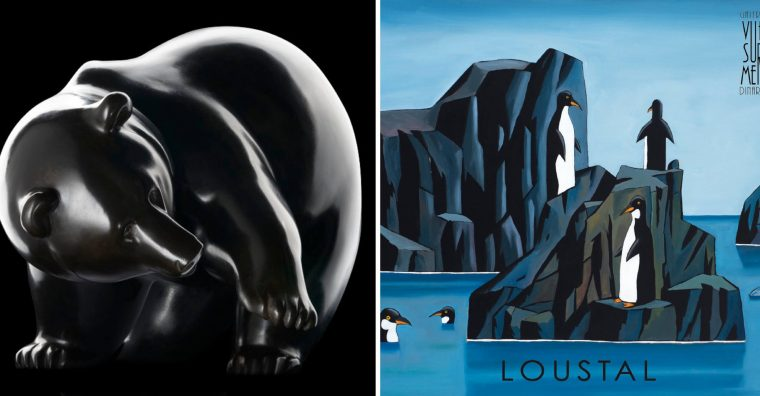 Illustration de l'article Galerie vue sur Mer à Dinard :    LOUSTAL, PEINTRE ET ILLUSTRATEUR