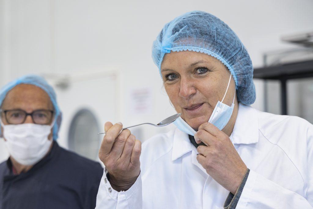 Sylvie Bondil dirigeante des glaces Moustache de Saint-Malo