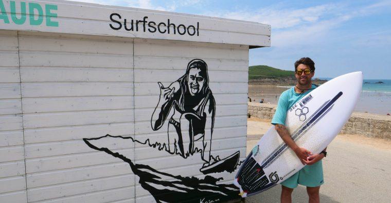 Illustration de l'article [ Saint-Lunaire ] Emeraude Surf School : Emporté par la houle