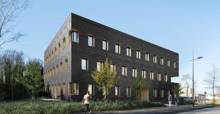 Illustration de l'article IMMOBILIER : Le Black, nouvel immeuble de bureau à Pacé