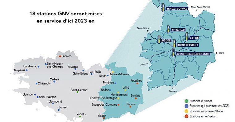 Illustration de l'article Deux stations d'avitaillement au BioGNV* bientôt opérationnelles