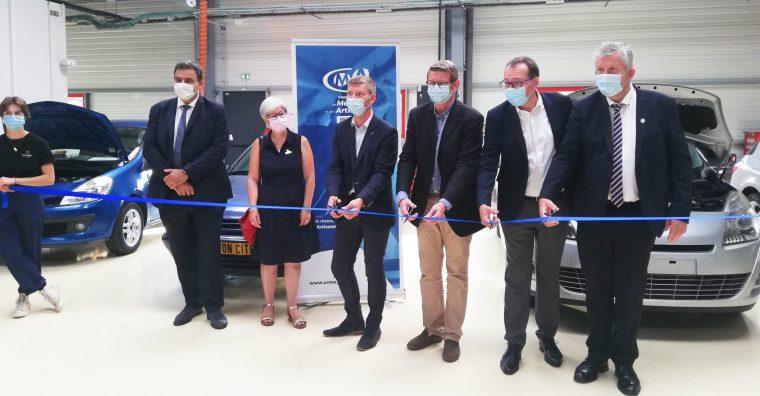 Illustration de l'article Filière automobile : Inauguration d'un nouvel équipement de formation et convention de partenariat avec Renault