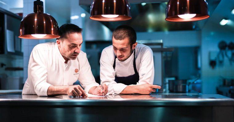 Illustration de l'article Ronan Kervarrec : L'Océan, fil conducteur de sa cuisine