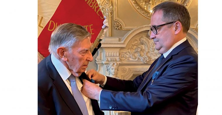 Illustration de l'article Carnet – Claude GIBOIRE : Officier de l'Ordre national du Mérite